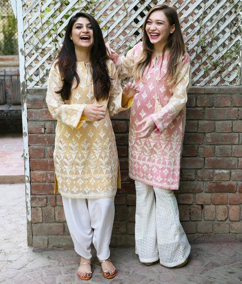 Eid outfits by Maheen Ghani Taseer.