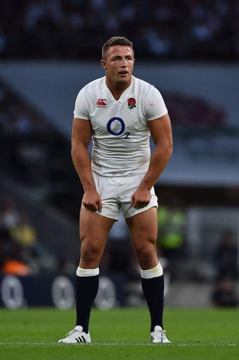Sam Burgess of England