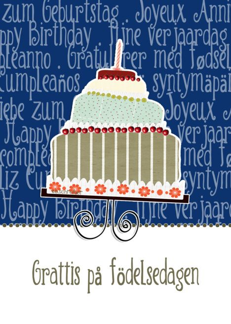 Grattis P F Delsedagen Happy Birthday In Swedish Cake Candle Card Ad Sponsored Happy Candle Cards Happy Birthday Candles Happy Birthday In Scottish