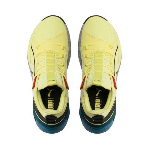 Men's PUMA Uproar Spectra Basketball Shoe Sneakers in Limelight/Black/White size 11.5