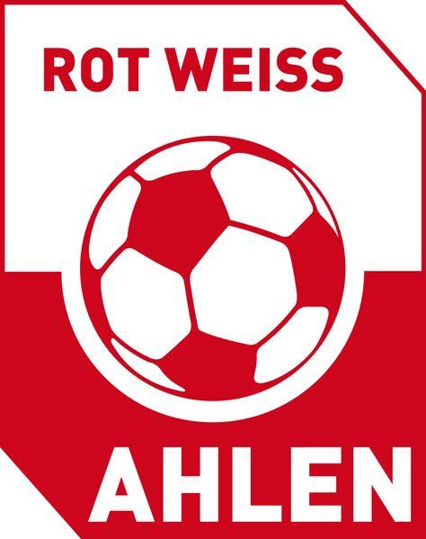Rot Weiss Ahlen Rot Weiss Rot Und Fussball Wappen
