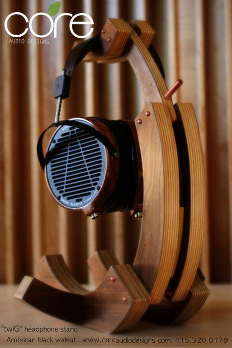 Headphone Stands | Core Audio Designs | Speaker stand
