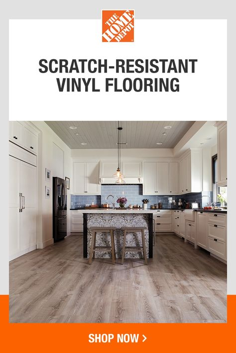 Whether you're looking for scratch-resistant flooring or classic real wood, find it at The Home Depot. And with flexible delivery options, nobody makes it easier to find and install flooring. Click to shop our wide variety of flooring at The Home Depot.