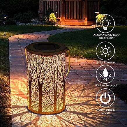 Tencoz Laternen Far Drauaÿen Garten Solarleuchten Far Dekorative Atmosphare Led Garten Hangende Mit Laterne Wasserdicht I Tuin Lantaarns Lampen Tuin Achtertuin