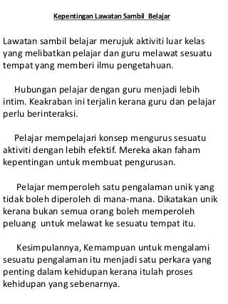 Tajuk Karangan Bahasa Melayu Tahun 3 Malay Language Learning Money Language
