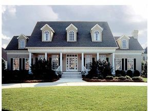 Classical Style House Plan 4 Beds 3 5 Baths 3338 Sq Ft Plan 453 92 Country Farmhouse House Plans Southern House Plans Farmhouse Style House