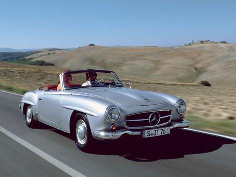 1955 Mercedes Benz 190 Sl S Izobrazheniyami Avtomobili