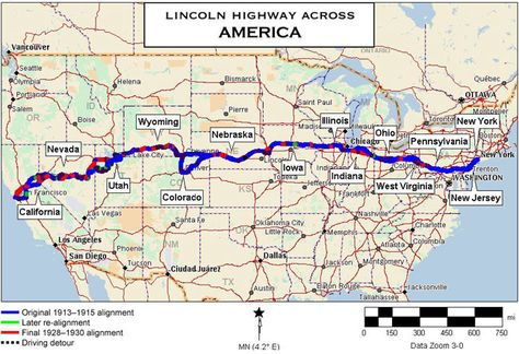 Lincoln Highway - Stockton, California Historic ...