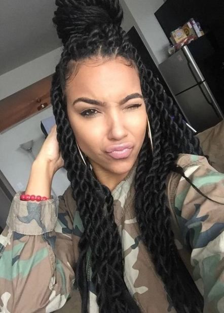 Braids Hairstyles For Black Women With Weave Senegalese Twists 61