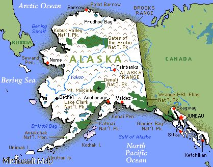 Alaska Became The Th State On January Yes When I Was - Mt mckinley on us map