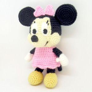 Classic Mickey Mouse Amigurumi | Fat Face & Me | 300x300