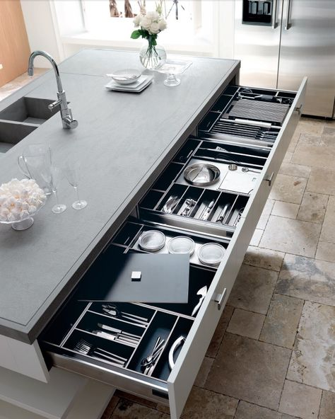 133 best Cucine images on Pinterest Kitchen ideas, Gourmet - schubladen organizer küche
