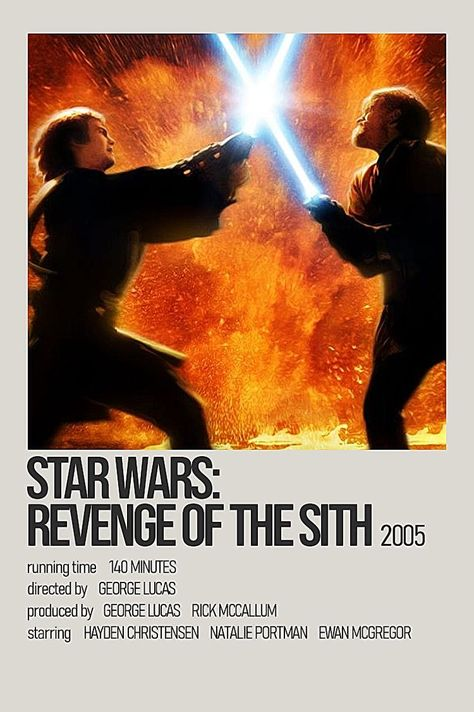 Star Wars: Revenge of the Sith Movie Poster