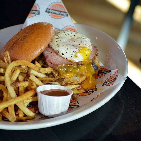 The Hangover Burger from Bad Daddy's Burger Bar
