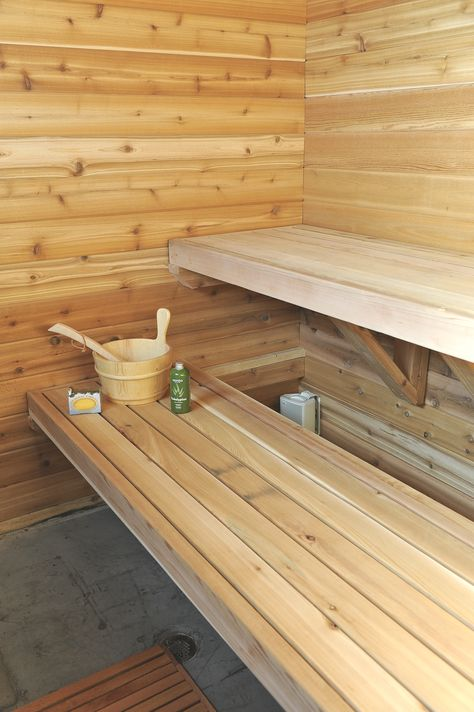 Sauna Times - tips for urban sauna building A place to lay your