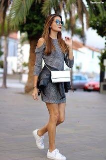 Saiba como combinar vestidos com tênis | Etiqueta Unica