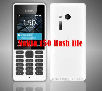 Latest Nokia 150 flash file 2018 download really good work