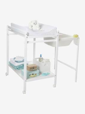 Table A Langer Avec Baignoire Integree Vertbaudet Magictub Blanc Table A Langer Baignoire Styles De Salles De Bain