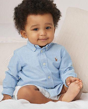 New Baby Boys RALPH LAUREN Body Costume//ange 3 mois
