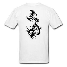 Tribal Heart Tattoo t shirt ~ 352 |