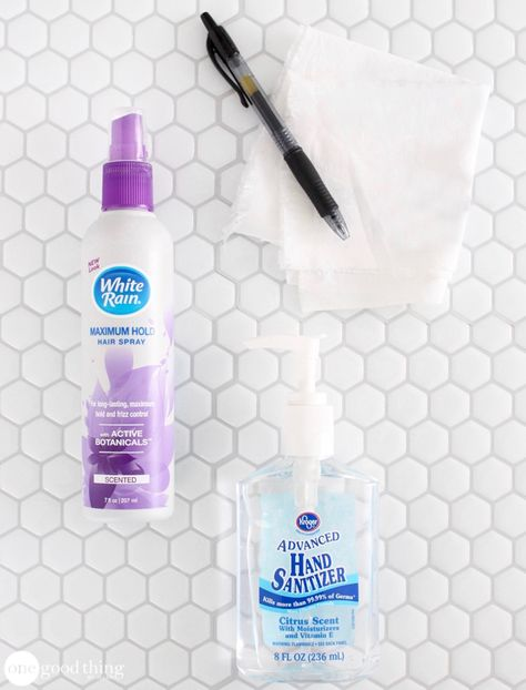 31 Diy Hacks For Stained And Ruined Clothes Ink Stain Removal