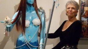 Stephanie Murphy Blue Goddess