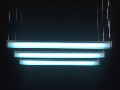 Fluorescent Pendant Lamp Lumi Lamps Collection By Boffi