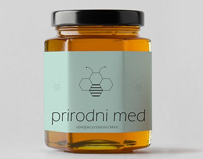 honey label package