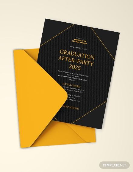 Graduation Party Invitation Template Free Jpg Illustrator Word Outlook Apple Pages Psd Publisher Template Net Graduation Announcement Template Graduation Party Invitations Templates Graduation Invitations Template