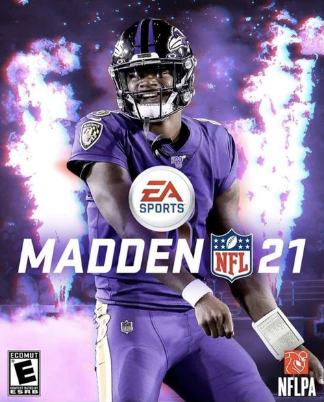 Lamar Jackson is Madden 21 Cover Athlete and Do You Believe Cover Curse Football Art, Dallas Cowboys Football, Football Memes, Football Players, Orioles Baseball, Alabama Football, Fantasy Football, Denver Broncos, Lsu