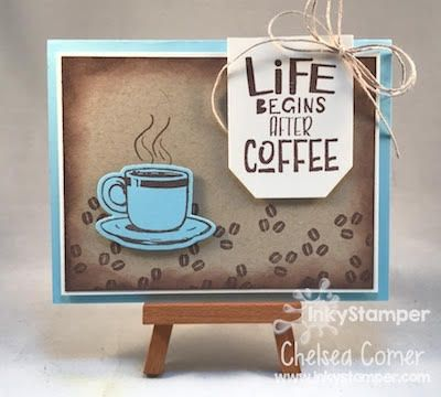 Life Begins After Coffee Fun Stampers Journey Stamp Set Coffee Helps Coffee Cards Stamped Cards Card Craft