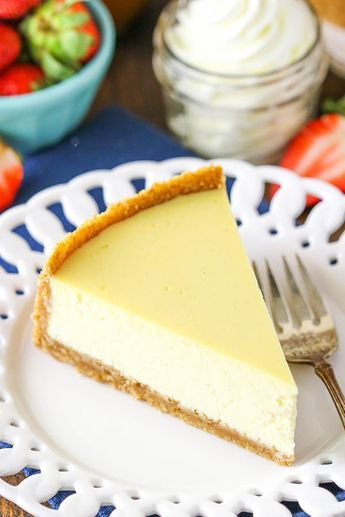 The Best Easy Cheesecake Recipe Step By Step With Video Recipe Cheesecake Recipes Classic Easy Cheesecake Recipes Cheesecake Recipes