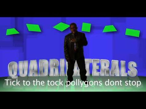 My son's 6th grade math project. He wrote a rap about quadrilaterals & I had a family friend make this video. He got an 'A' and math teachers LOVE this!! Please share...