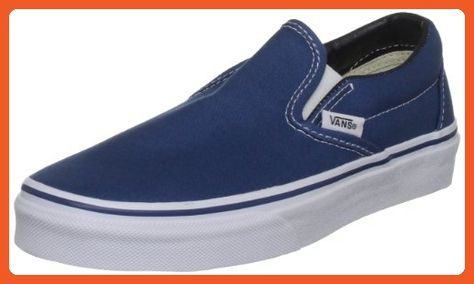Vans Authentic Unisex Navy White Canvas Vulcanised Skate Trainers Shoes  VEE3NVY-UK 8 - Athletic shoes for women ( Amazon Partner-Link) 18d28ad22