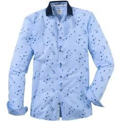 Olymp Level Five Casual Shirt Body Fit Polo Collar Bleu L Olympymp Olymp Level Five Casual Shirt Body Fit Polo Collar Bleu L Olympymp Bleu In 2020 Casual