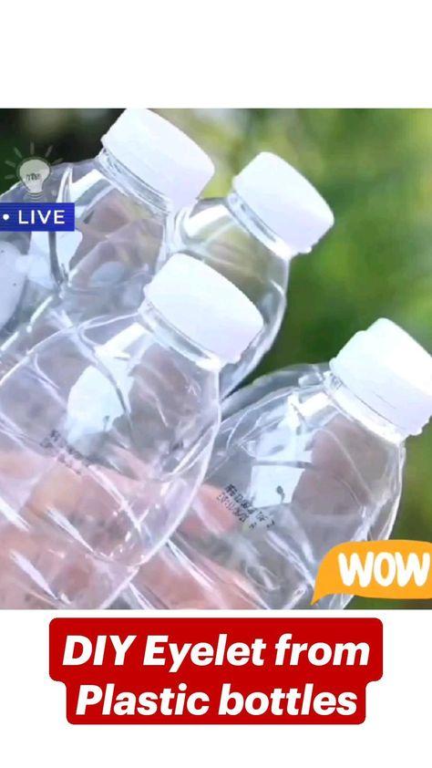 DIY Eyelet from Plastic bottles
