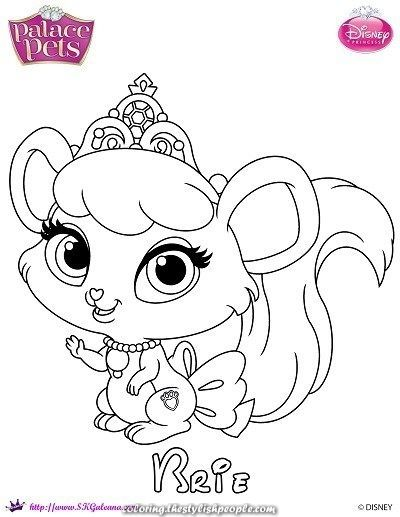 Disney S Princess Palace Pets Coloring Pages Free Printables