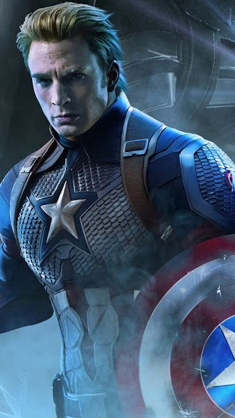 Avengers Endgame Captain America 4k 3840x2160 Wallpaper Captain America Marvel Captain America Superhero Captain America