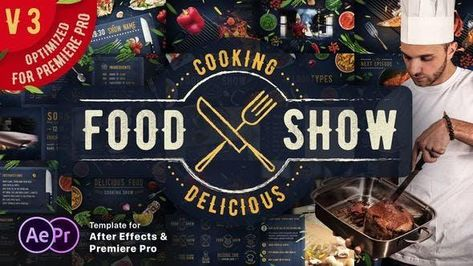 Cooking Show Template - After Effects Template