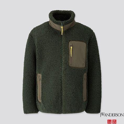 Essentials Herren High Pile Fleece Full-Zip Jacket