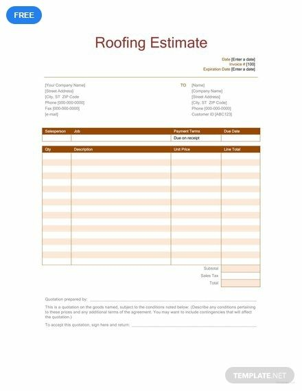 Free Roofing Estimate | whatever | Roofing estimate