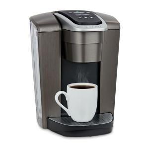 Keurig K Elite Brushed Slate Single Serve Coffee Maker With