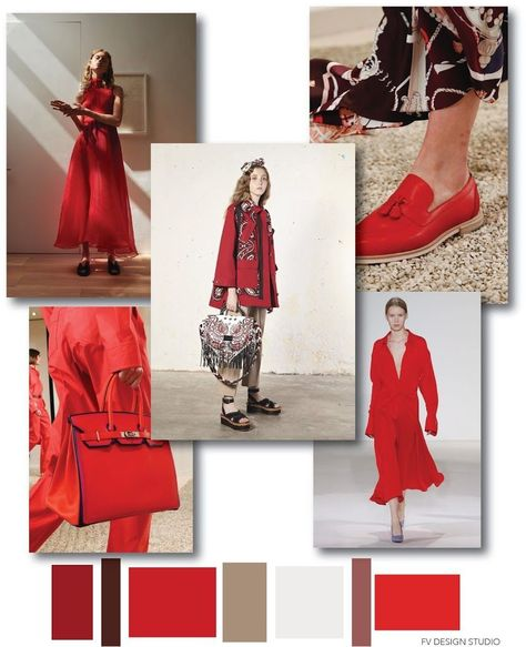 RESOURCES: Beaufille, Victoria Beckham, Red Valentino SS 2018 and accessories by Hermes Resort 2018 #FashionTrendsBoard