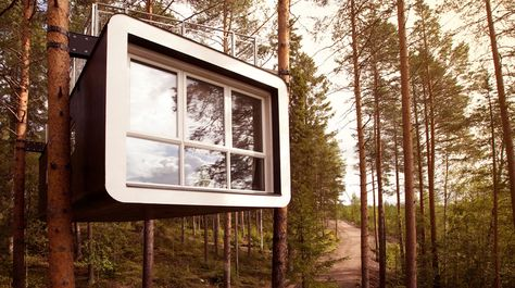 Tree Hotel Harads Sweden International Hotel Inspiration