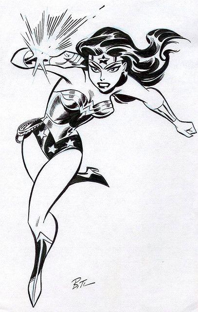 Wonder Woman by comic_art_fan