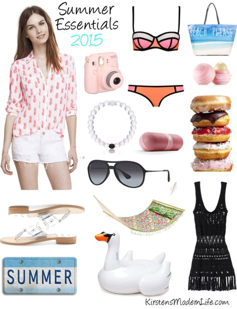 Check out these 2015 Summer Essentials on KirstensModernLife.com
