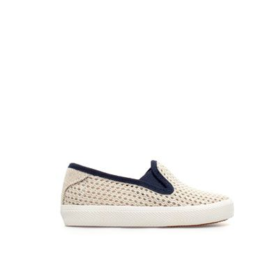 Slip Baby Boy Shoes Mesh Zara United On Plimsolls Kids dnIf7q