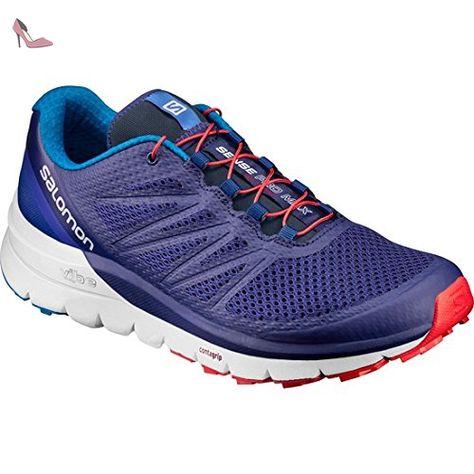 Salomon Sense Pro Max, Sneakers trail running homme bleu