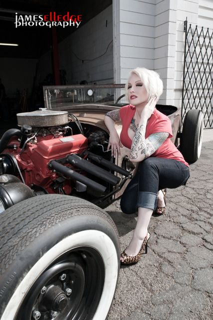 Something is. Rat rod suicide girls