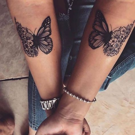 Best Butterfly Tattoo Designs in 2020 - Check Out Our Galleries . - Best Butterfly Tattoo Designs In 2020 - Check Out Our Galleries . - Best Butterfly Tattoo Designs in 2020 - Check Out Our Gal Dope Tattoos, Mini Tattoos, Unique Tattoos, Body Art Tattoos, Awesome Tattoos, Ribbon Tattoos, Bff Tattoos, Pretty Tattoos, Skull Thigh Tattoos